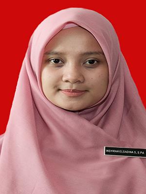 Insyirah Elsadina Sharen Budiyanto, S.Pd. M.Pd