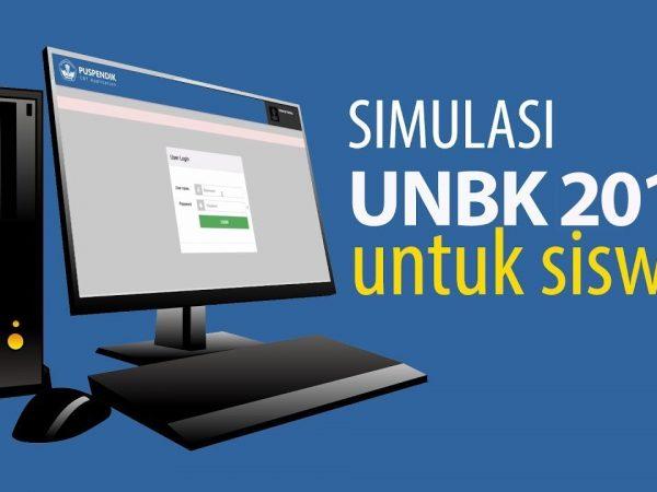 Kegiatan Simulasi 2 UNBK 2019