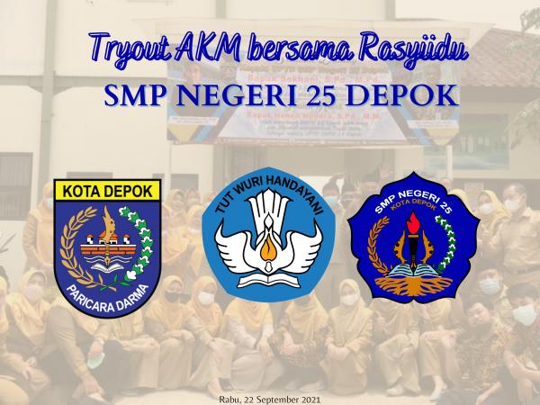 SMP Negeri 25 Depok Bersiap menuju AKM 2021